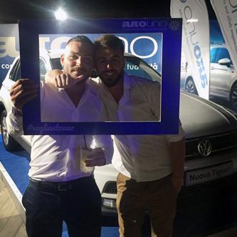 AutoUno Volkswagen Napoli al Club Partenopeo - Estate 2016