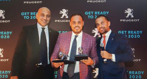 Peugeot Italia premia AutoUno
