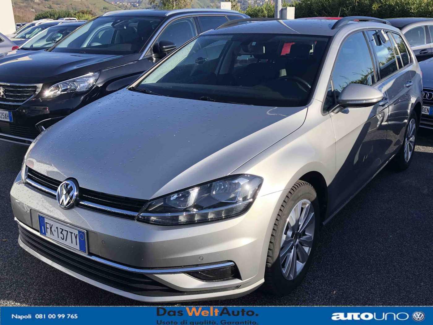 Volkswagen Golf 7ª serie Usato Napoli