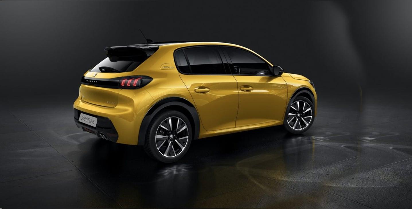 Noleggio lungo termine Nuova Peugeot 208