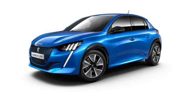 Noleggio lungo termine nuova Peugeot e-208