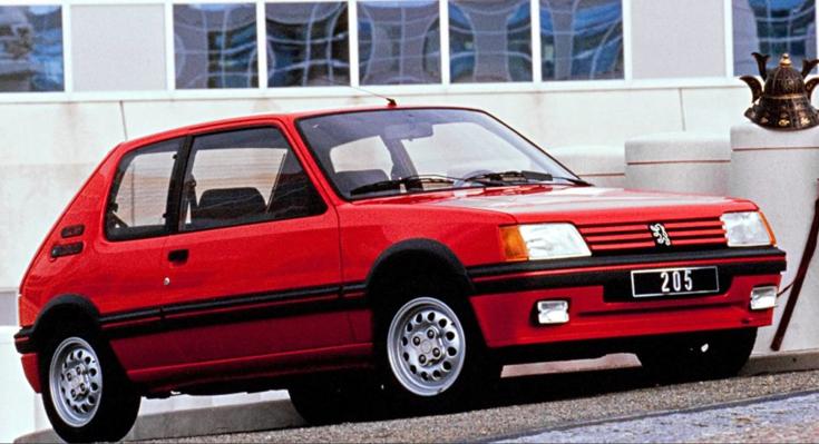 Peugeot serie2 205