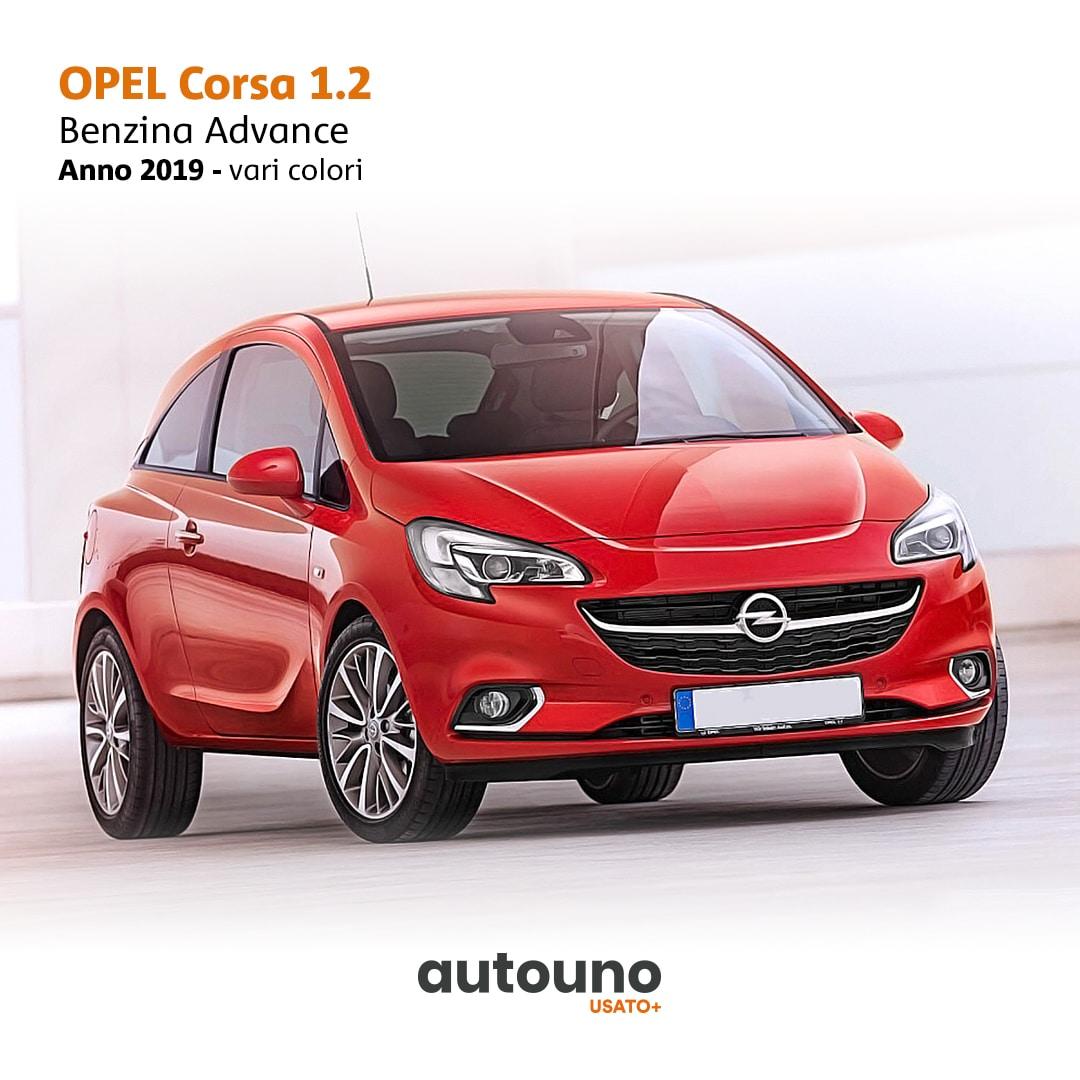 Opel Corsa 2019 usata Napoli