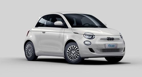 Noleggio lungo termine Fiat 500 Elettrica