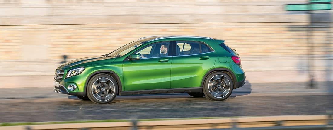 Noleggio lungo termine Mercedes GLA