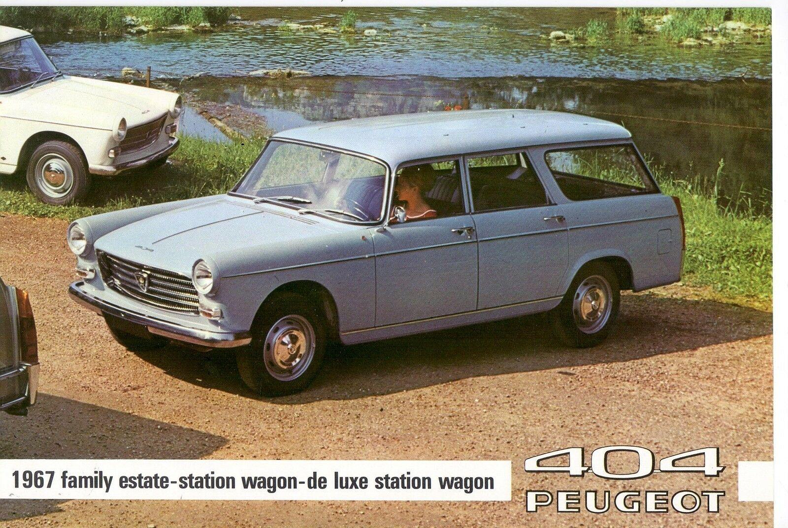 Storia delle station Wagon Peugeot: la 404